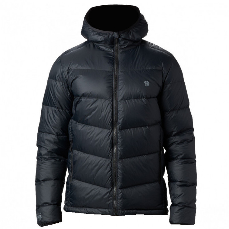Doudoune à capuche homme MT EYAK DOWN HOODY noire Mountain Hardwear