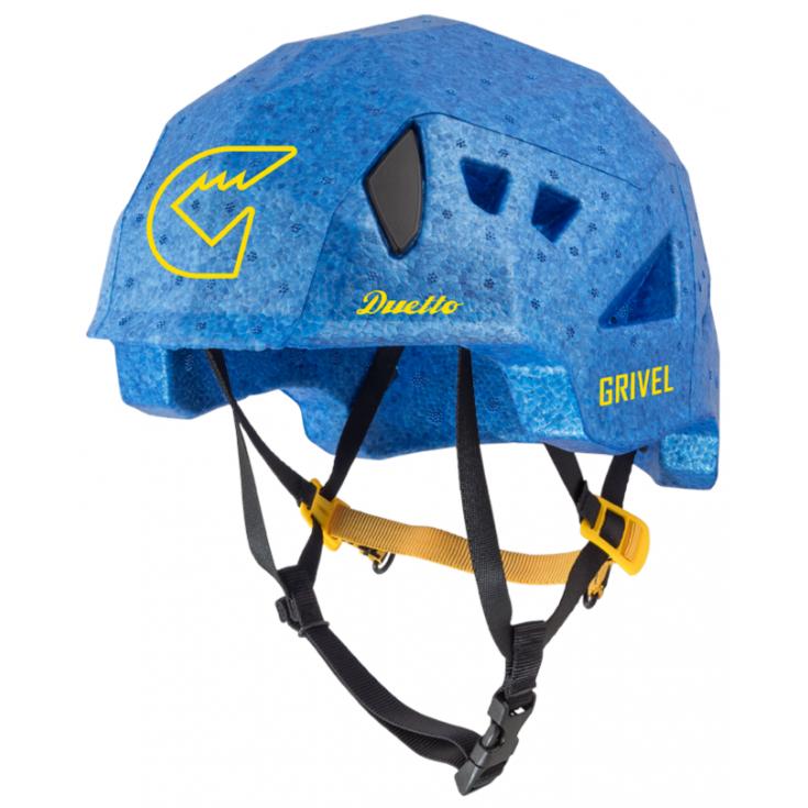 Casque de ski double-norme DUETTO bleu Grivel