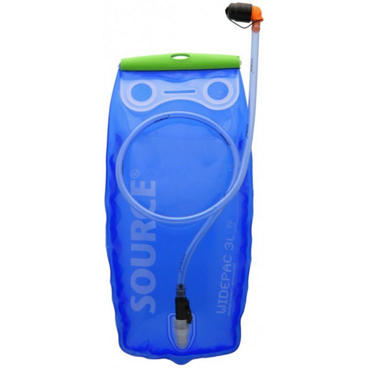 Nalgene Camping étanche bouteille d/'eau Unisexe Tritan Bleu Wide Mouth 500 ml