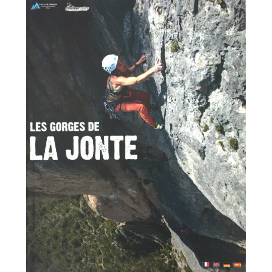 Livre Topo Escalade Les Gorges de LA JONTE - CAF Causses et Cevennes 2019