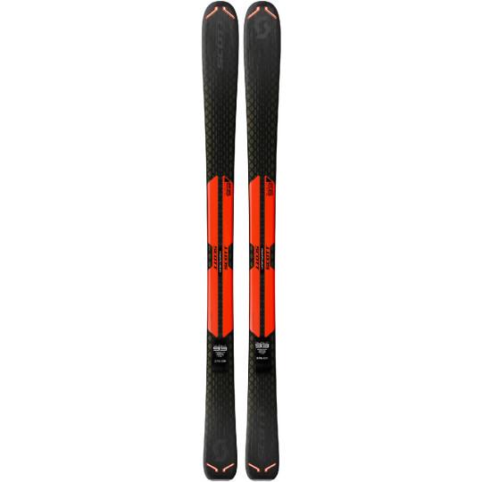 Ski SLIGHT 93 rouge Scott 2020 en 180cm