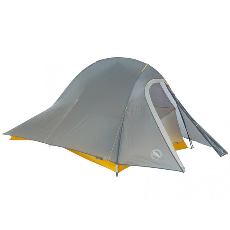 Tente de randonnée FLY CREEK HV UL 2 BIKEPACK gris-jaune Big Agnès