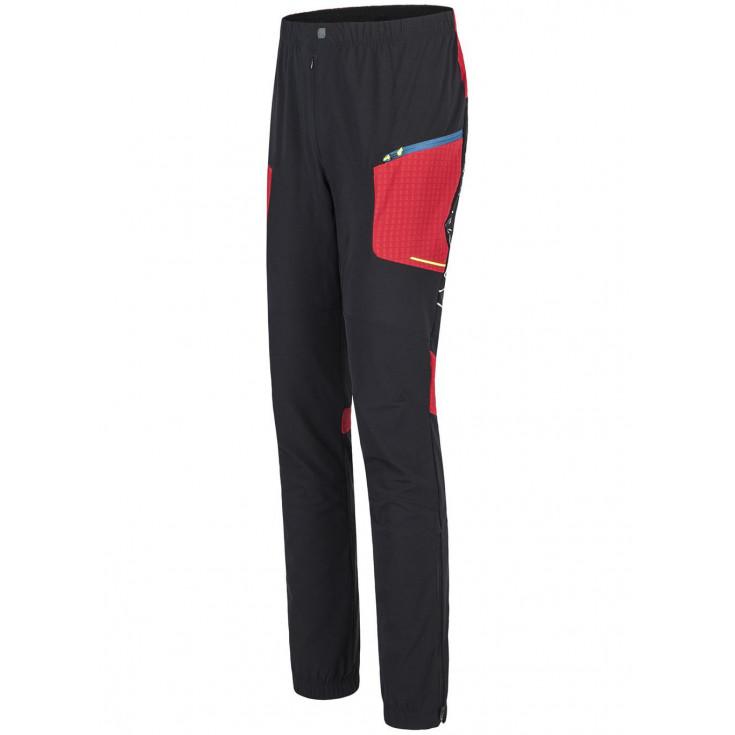 Pantalon Softshell SKI STYLE noir-rouge Montura
