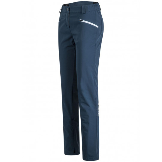 Pantalon Softshell femme AIR PERFORM PANTS WOMAN blu-cenere Montura