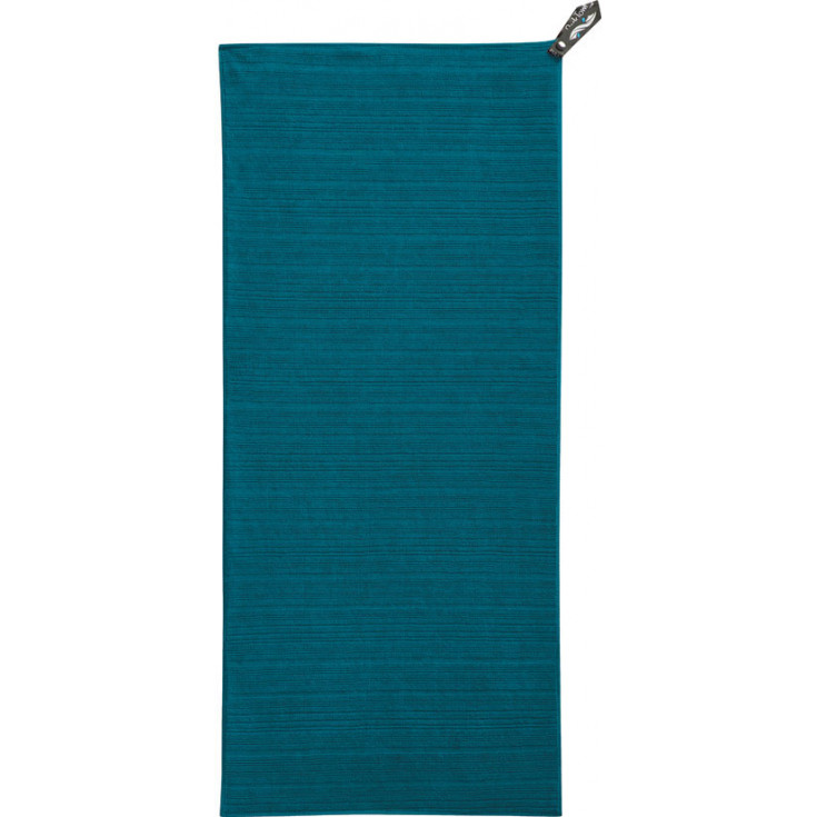 Serviette bouclette LUXE beach XL aquamarine Packtowl