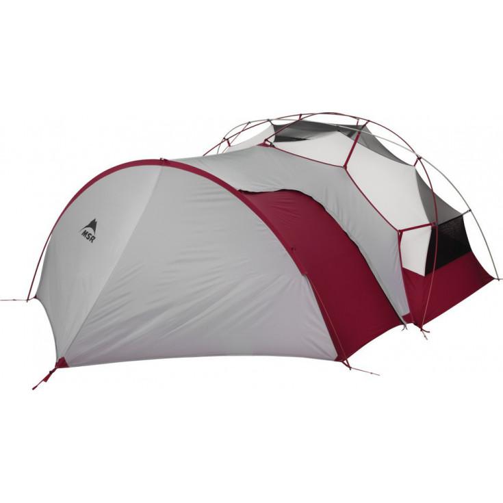 Vestibule GEAR SHED V2 gris pour tentes Elixir et Hubba MSR