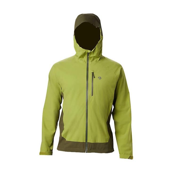 Veste imperméable homme STRETCH OZONIC 2.5L JACKET just-green Mountain Hardwear 2020