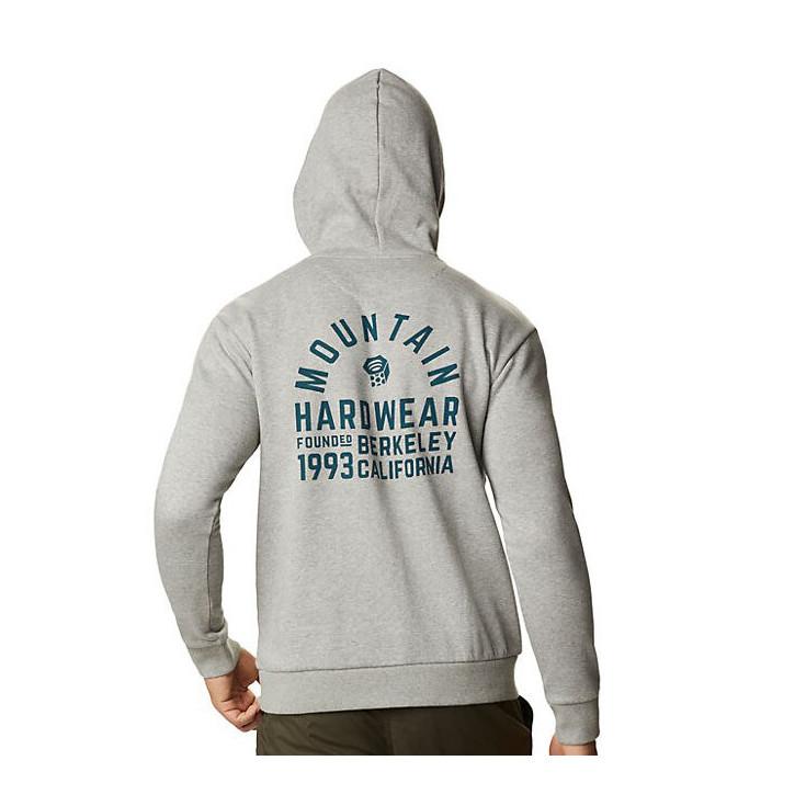 Sweat capuche homme BERKELEY 93 heather-manta-grey Mountain Hardwear 2020