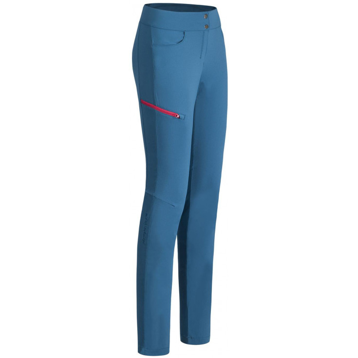 Pantalon de randonnée femme MOVING PANTS WOMAN bleu Montura
