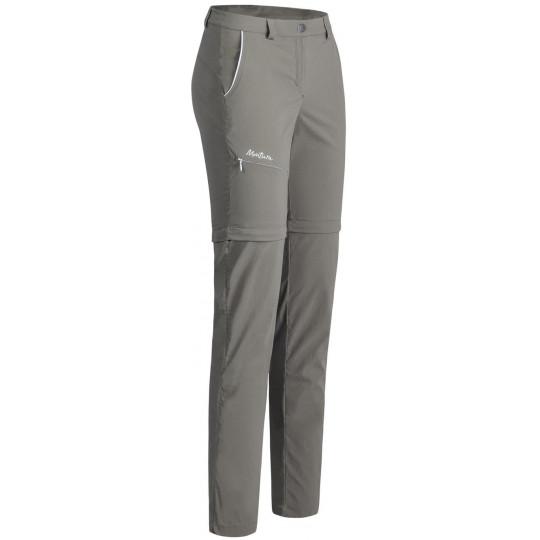 Pantalon de randonnée femme MOVING ZIP OFF PANTS WOMAN terre Montura