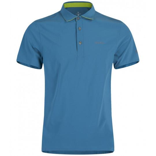 Polo homme STRETCH LIGHT bleu-vert Montura