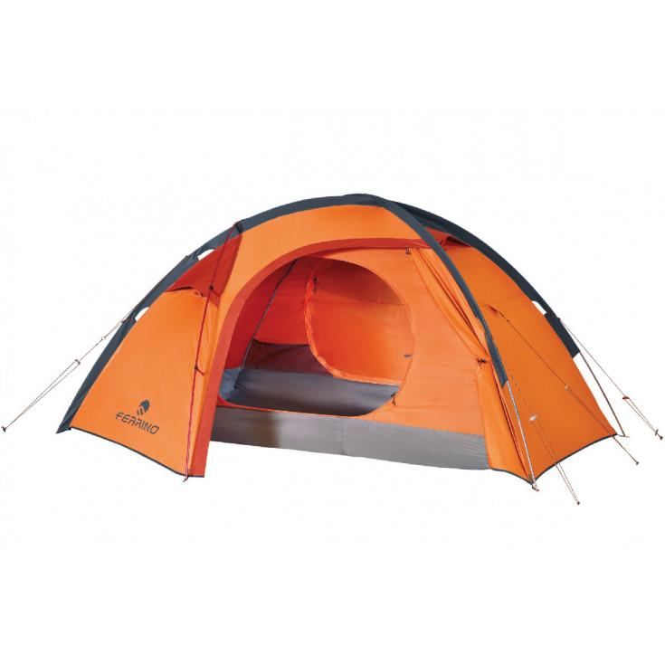 Tente 4 saisons Haute Montagne TRIVOR 2 orange Ferrino