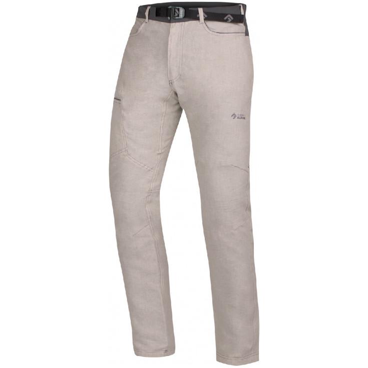 Pantalon lin ZION sand-anthracite Directalpine