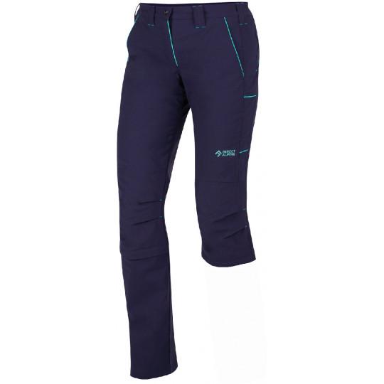 Pantalon de randonnée convertible femme SIERRA LADY 5.0 indigo-menthol Directalpine