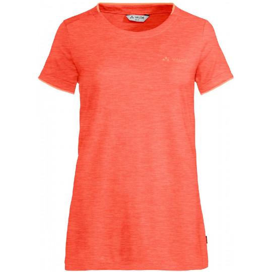 Tee-shirt respirant femme ESSENTIAL pink-canary Vaude