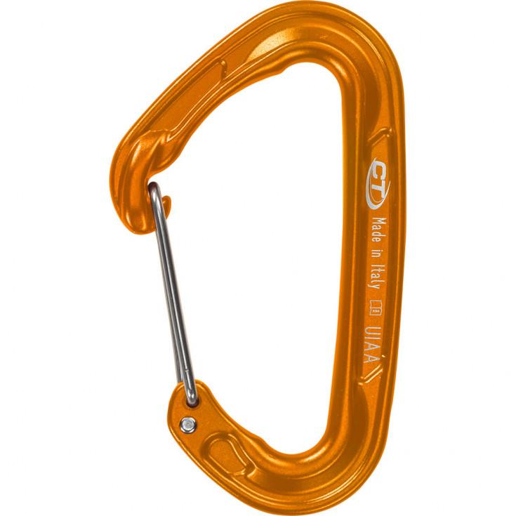 Mousqueton FLY-WEIGHT EVO orange Climbing Technology