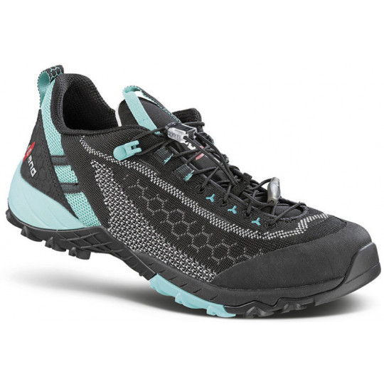 Chaussure femme ALPHA KNIT W's black-turquoise Kayland