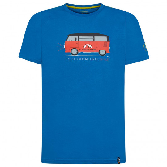 Tee-shirt coton bio VAN T-SHIRT neptune La Sportiva