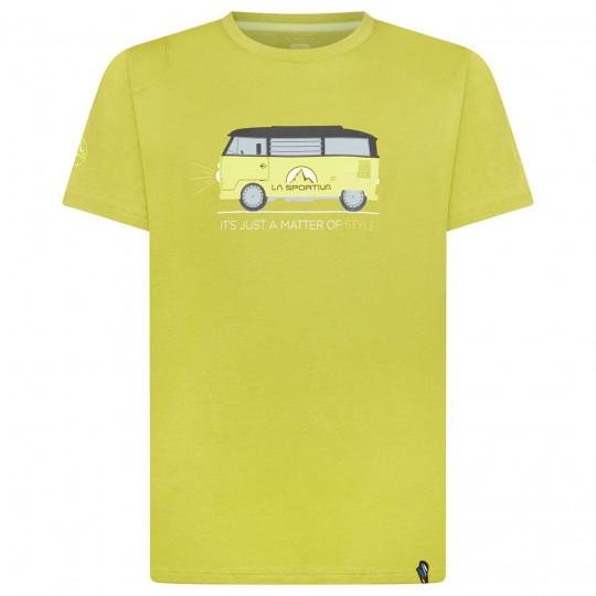 Tee-shirt coton bio VAN T-SHIRT kiwi La Sportiva