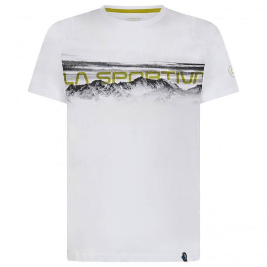 Tee-shirt coton bio LANDSCAPE T-SHIRT white La Sportiva