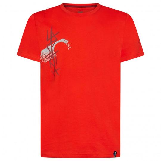 Tee-shirt coton bio SOL T-SHIRT poppy La Sportiva