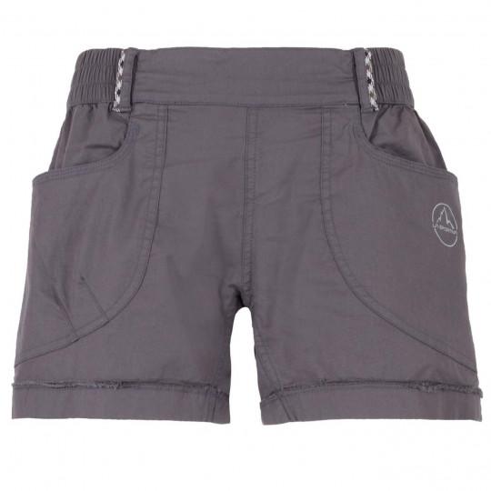 Short femme coton bio ESCAPE W carbon La Sportiva