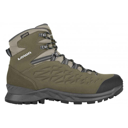 Chaussures de randonnée GORETEX EXPLORER GTX MID olive Lowa