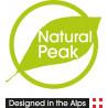 Tee-shirt fibre de bois 210 AROUND THE WORLD bleu Natural Peak