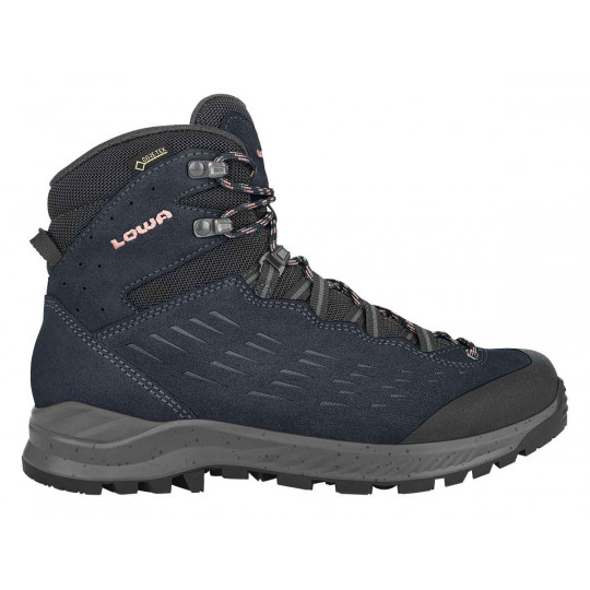 Chaussures de randonnée femme GORETEX EXPLORER GTX MID W'S navy-rose Lowa