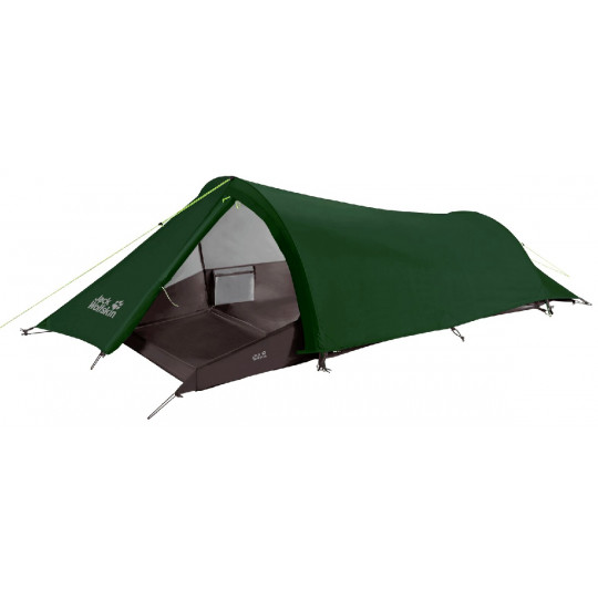Tente de randonnée GOSSAMER 1P verte Jack Wolfskin