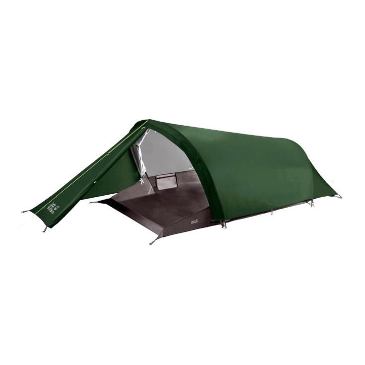 Tente de randonnée GOSSAMER 2P verte Jack Wolfskin