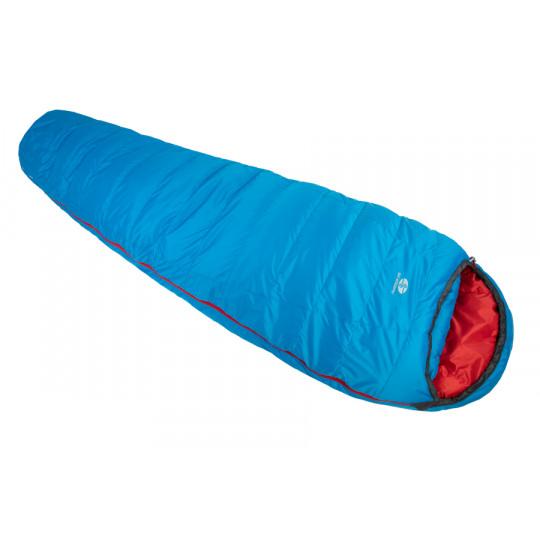 Sac de couchage plume RIMO II 600 REG bleu-rouge 190 SirJoseph