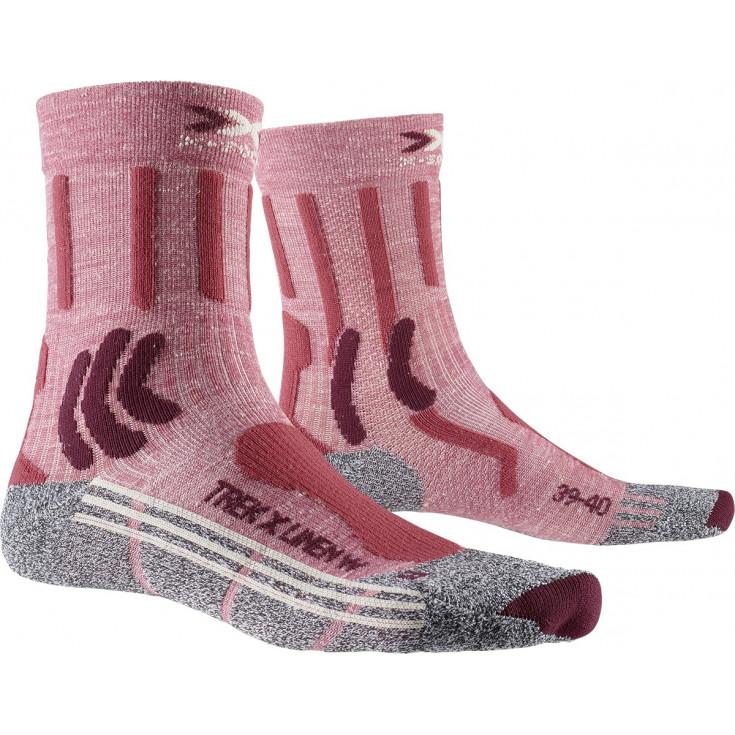 Chaussettes de randonnée femme TREK X LINEN WOMEN X-Socks