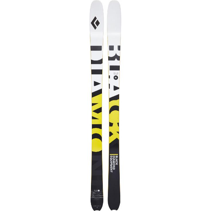 Ski de rando HELIO CARBON 88 blanc-jaune Black Diamond 2021