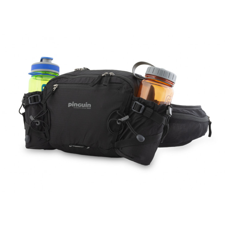 Sac banane de randonnée et voyage HIP BAG noire Pinguin Outdoor Equipment