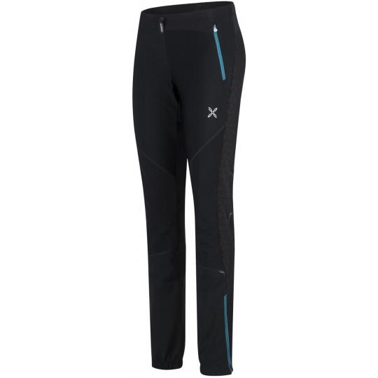 Pantalon Softshell femme EVOQUE 2 PANTS Woman noir-bleu Montura