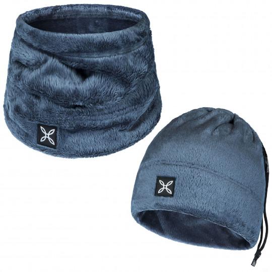 Bonnet tour de cou 2 en 1 COLLAR POLAR CAP cenere Montura