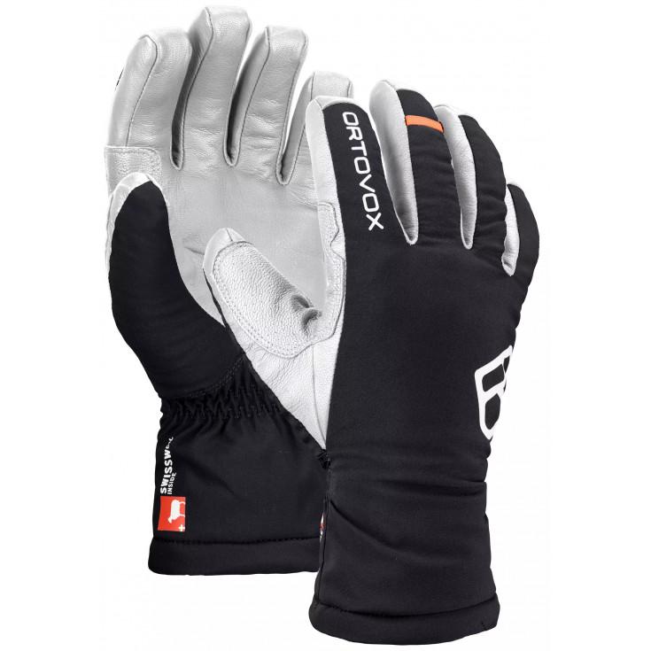 Gants de Ski SWISSWOOL Freeride Glove M black-raven Ortovox