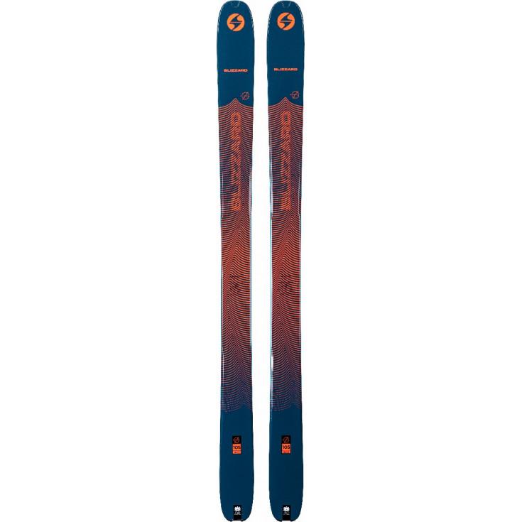 Ski de rando ZERO G 105 (FLAT) blue-orange Blizzard 2021