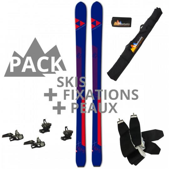Pack ski de rando unisexe X-TREME 82 Fischer rouge 2022