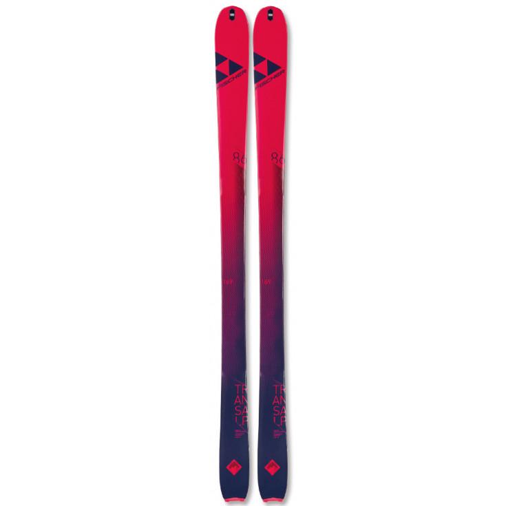 Ski de rando femme TRANSALP 86 WOMAN CARBON framboise Fischer 2022