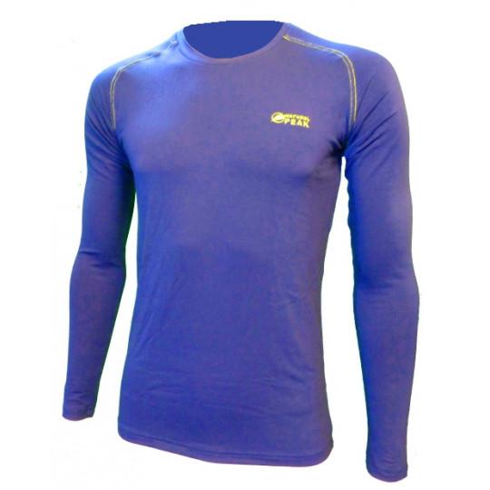 Tee-shirt fibre de bois 260 WALKER bleu Natural Peak