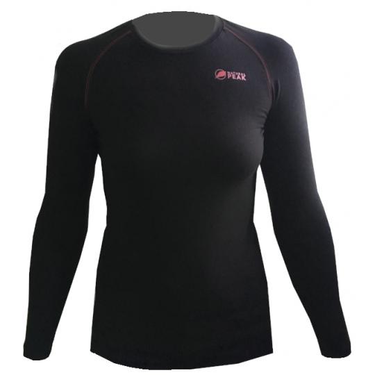 Tee-shirt fibre de bois 260 WALKER LADY noir-rose Natural Peak