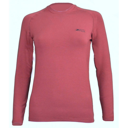 Tee-shirt fibre de bois 260 WALKER LADY burgundy Natural Peak