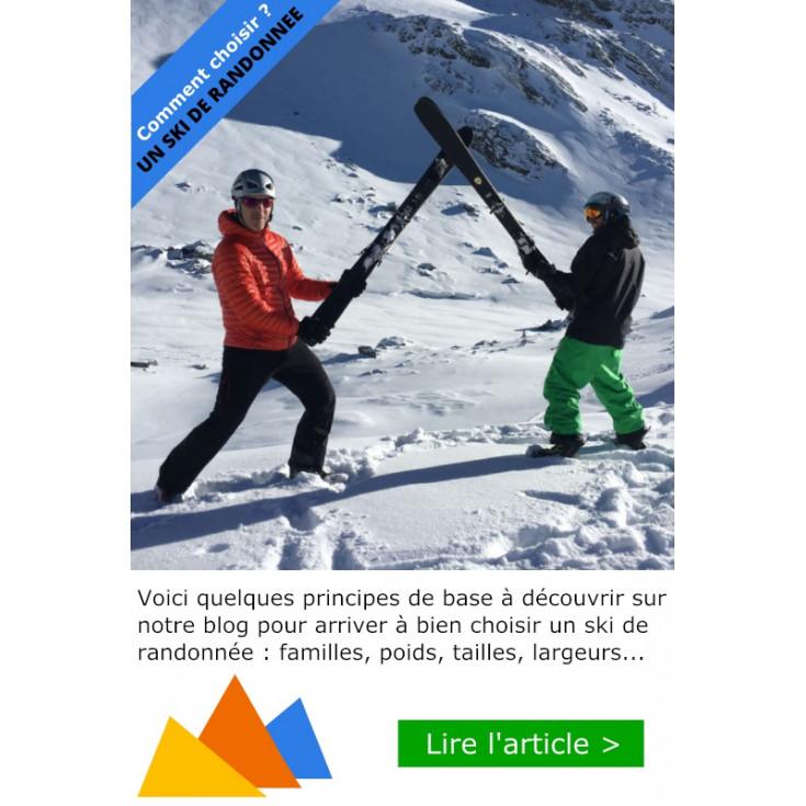 Comment choisir un ski de randonnée ?