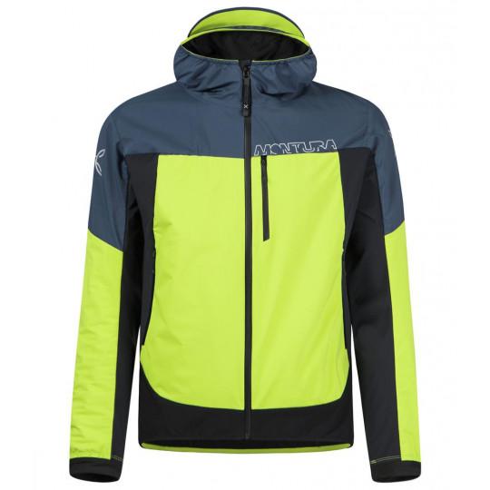 Veste Softshell à capuche AIR ACTION HYBRID JACKET lime-green Montura