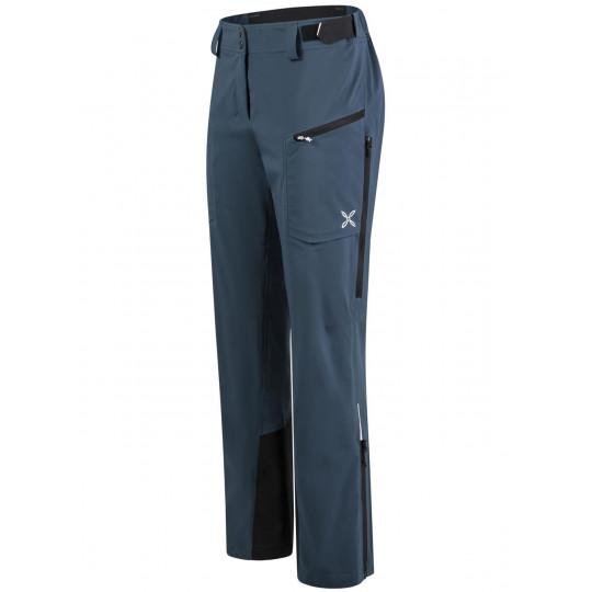 Pantalon de ski femme MULTI PANTS WOMAN 86 ash-blue Montura
