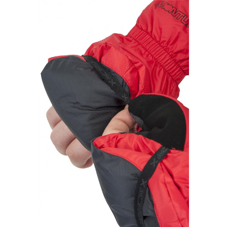 Moufle convertible FINGER-OUT MITTEN rouge Montura