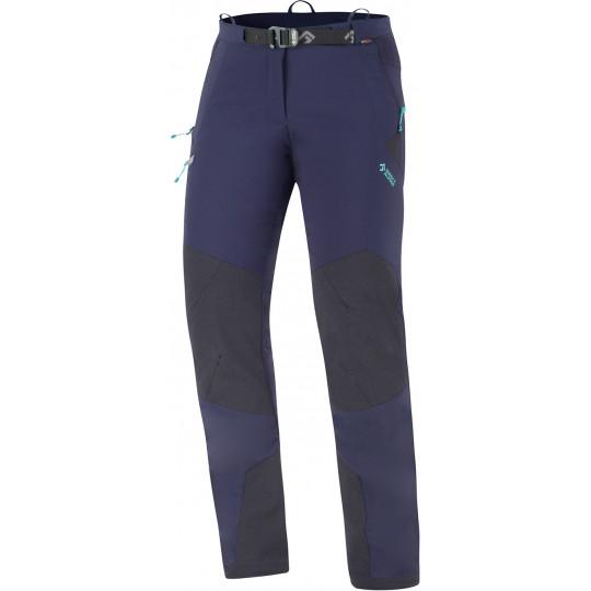 Pantalon softshell femme CASCADE LADY PANT indigo-menthe Directalpine