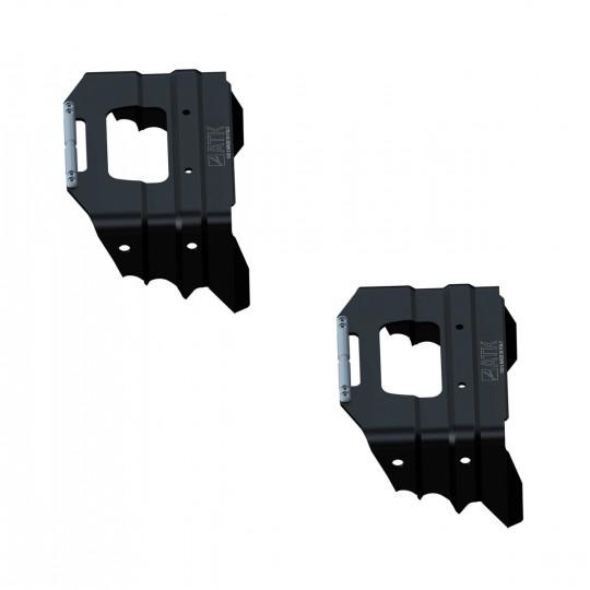 Couteaux 102mm noir ATK Bindings